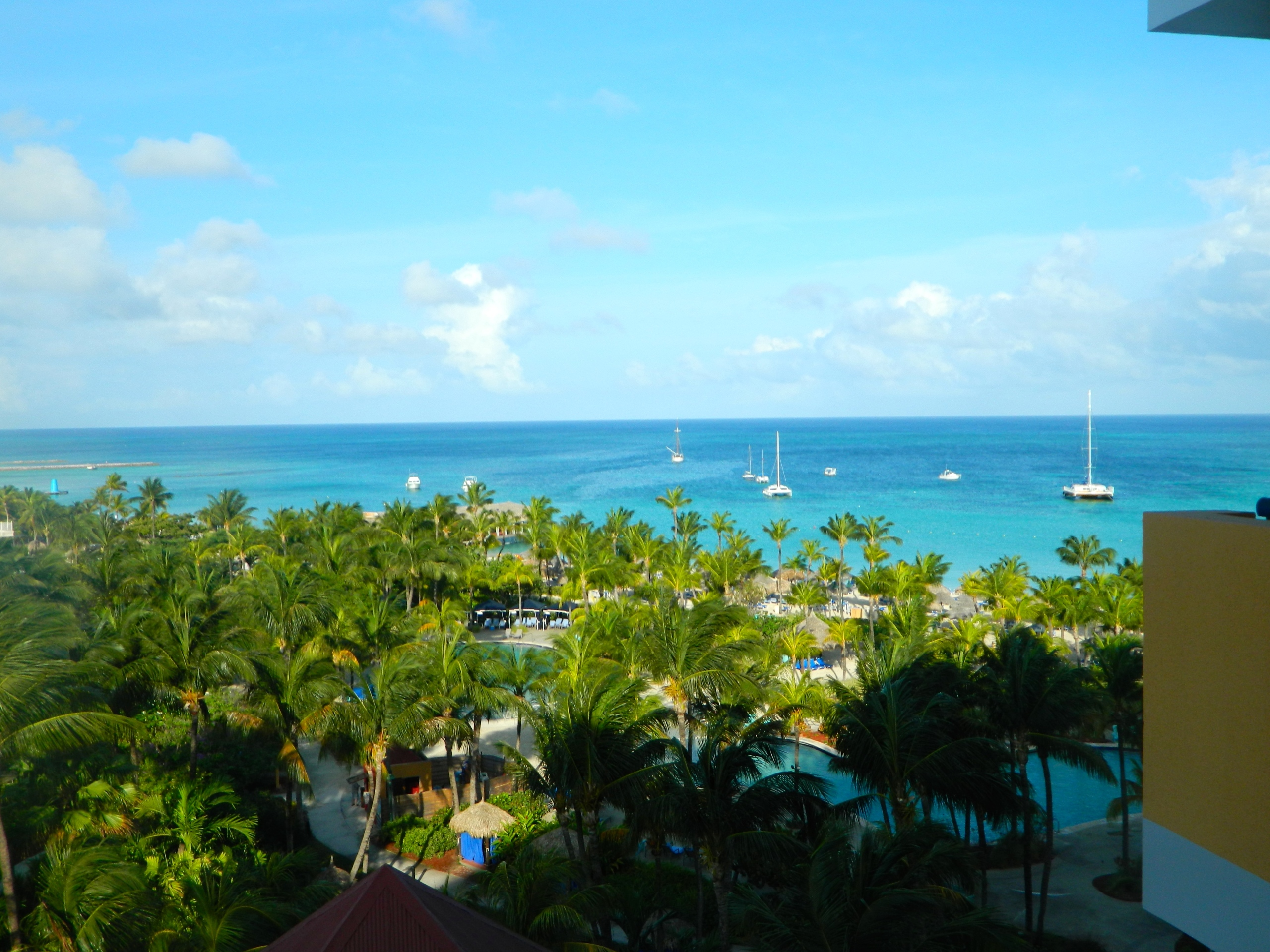 accommodation review: radisson aruba resort, casino & hotel (palm