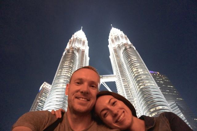 Selfie Petronas Towers