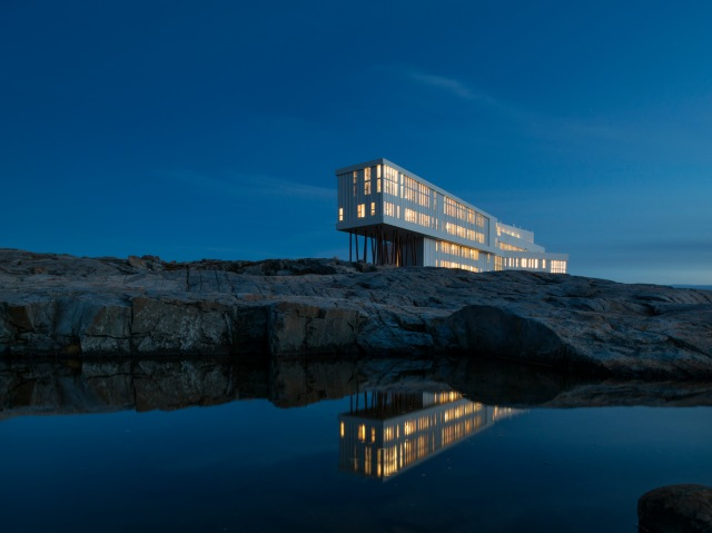 Photo courtesy of Fogo Island Inn